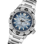 """Seiko Prospex Save The Ocean, Special Edition """"Antarctica"""" Monster Dive Watch #SRPG57"""