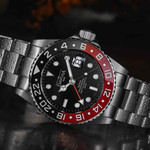 Davosa Ternos Swiss Automatic 200 Meter GMT Dual-Time Watch with 120-Click Ceramic Bezel #16157190