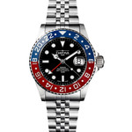 Davosa Ternos Swiss Automatic 200 Meter GMT Dual-Time Watch with 120-Click Ceramic Bezel #16157106