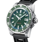 PHOIBOS Leviathan 500-Meter Automatic Dive Watch with Stainless Steel Case, AR Sapphire Crystal #PY032A