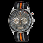 Seiko Quartz Chronograph with 60-minute timer, stop-watch style pusher and a 24-hour sub-dial  #SSB403