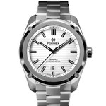 Formex Essence Swiss Automatic Chronometer with White Dial #0330-1-6311-100