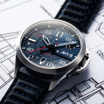 AVI-8 P-51 Mustang Hitchcock, Automatic Pilot Watch with AR Sapphire Crystal #AV-4086-02