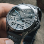 AVI-8 P-51 Mustang Hitchcock, Automatic Pilot Watch with AR Sapphire Crystal #AV-4086-04
