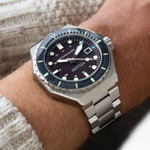 Spinnaker Dumas Automatic 300 Meter Dive Watch with Stainless Steel Bracelet #SP-5081-AA