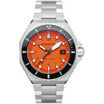 Spinnaker Dumas Automatic 300 Meter Dive Watch with Stainless Steel Bracelet #SP-5081-BB
