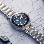 Spinnaker Dumas Automatic 300 Meter Dive Watch with Stainless Steel Bracelet #SP-5081-DD