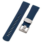 Islander 22mm Blue Rubber Dive Strap for Orient Ray 2 and Mako 2 Divers #BRAC-21