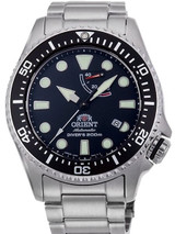 Orient Neptune Dive Watch with Power Reserve and AR Sapphire Crystal #RA-EL0001B00A
