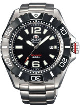 Orient 47mm M-Force 22-Jewel Automatic Titanium Dive Watch with Sapphire Crystal #DV01001B