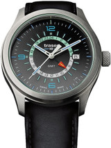 Traser P59 Aurora GMT, Dual-Time Watch with an Anti-Reflective Sapphire Crystal #107231