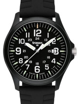 Traser Officer Pro Black PVD Steel Case Watch with a Sapphire Crystal #107103
