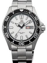 Orient USA II White Dial Automatic Dive Watch with Sapphire Crystal #AA0200CW