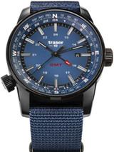 Traser P68 Pathfinder GMT Swiss Quartz Watch with Compass, AR Sapphire Crystal #109034