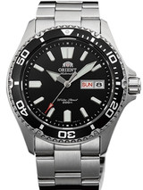 Orient USA II Black Dial Automatic Dive Watch with Sapphire Crystal #AA0200AB