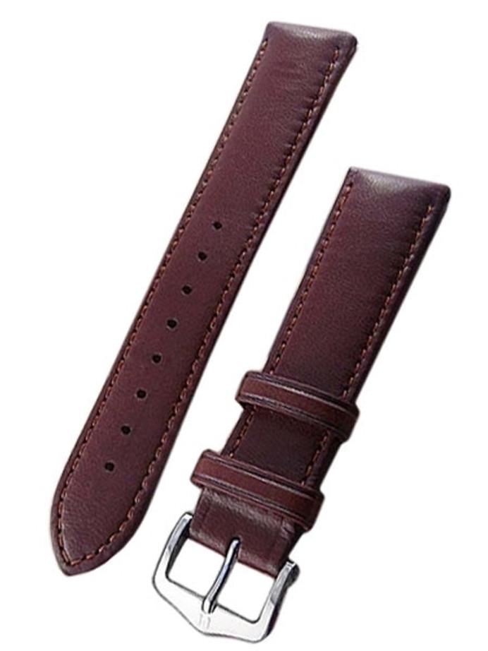 Hirsch Merino Gold Brown Nappa Sheep Leather Watch Strap #012060-70