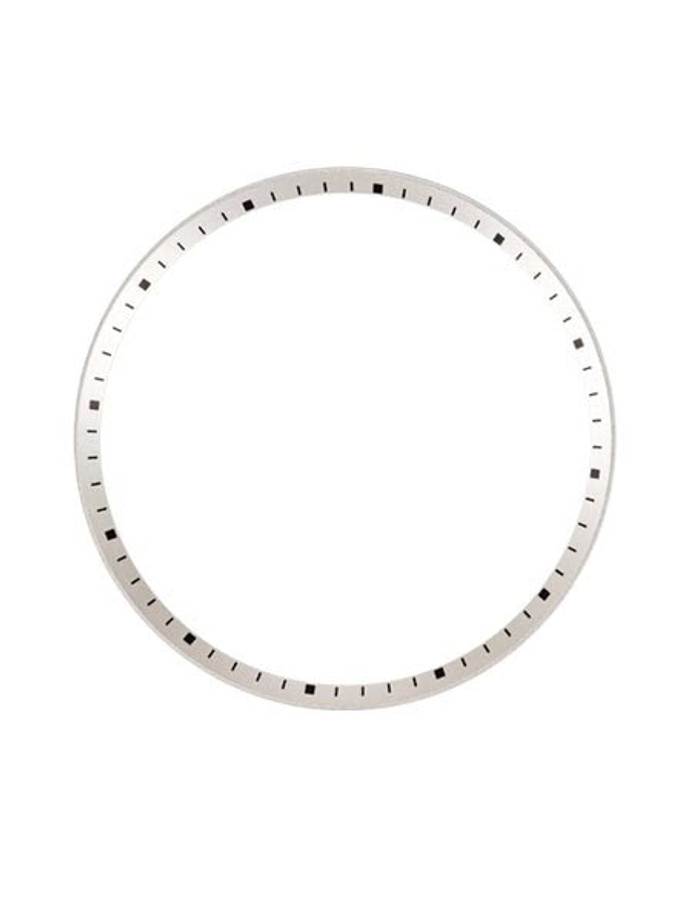Silver Chapter Ring for Seiko SKX007, SKX009, SKX011 Watches #R01