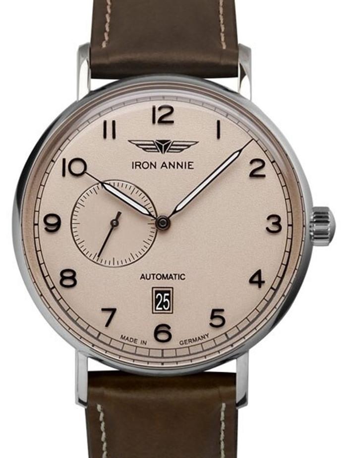 Iron Annie Amazonas Impression Swiss Automatic Dress Watch with Small Seconds, Date #5904-5