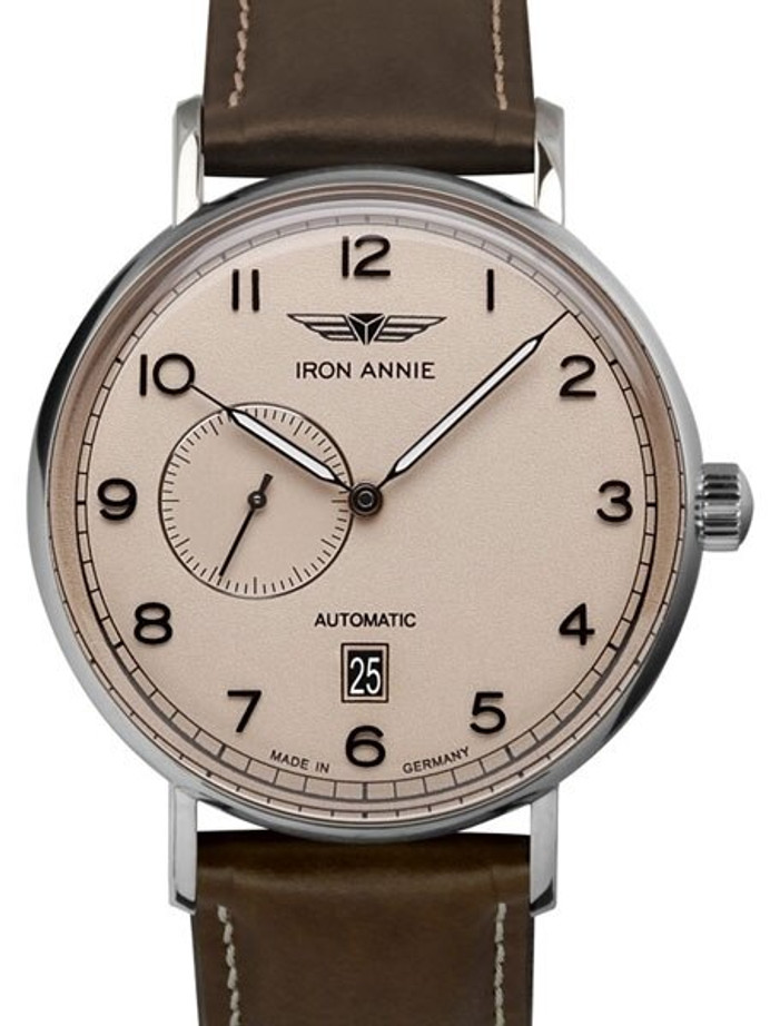 Iron Annie Amazonas Impression Swiss Automatic Dress Watch with Small Seconds, Date #5904-5