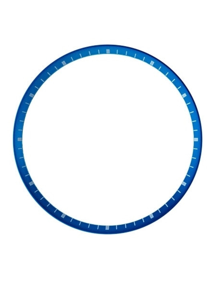 Matte Blue Chapter Ring for Seiko SKX007, SKX009, SKX011 Watches #R08