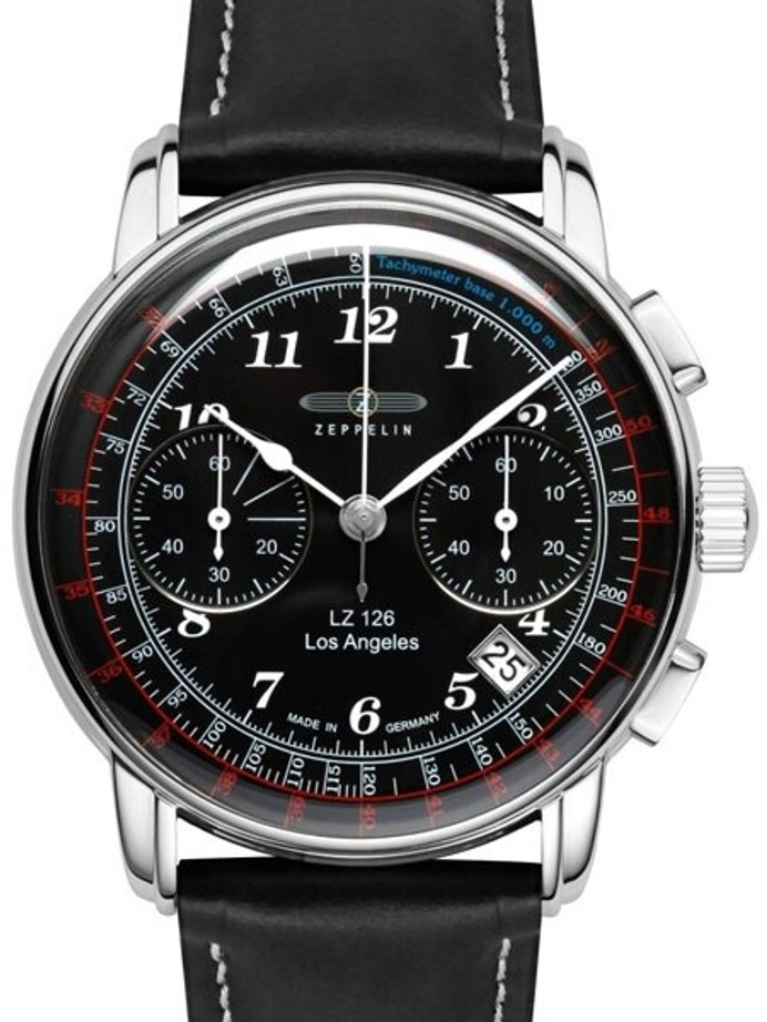 Graf Zeppelin LZ 126 Los Angeles Quartz Chronograph Watch #7614-2