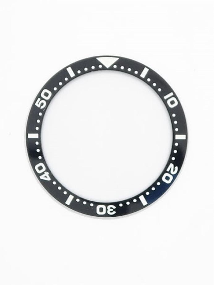 Black Ceramic Luminous Bezel Insert for Seiko SKX013 Watches #C08