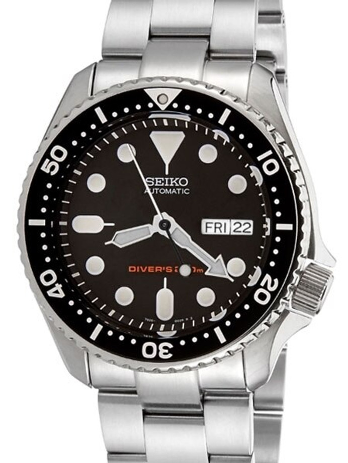 """Seiko SKX007 Divers Automatic Watch Super-O """"Boyer"""" Edition with a Flat Sapphire Crystal #SKX007"""