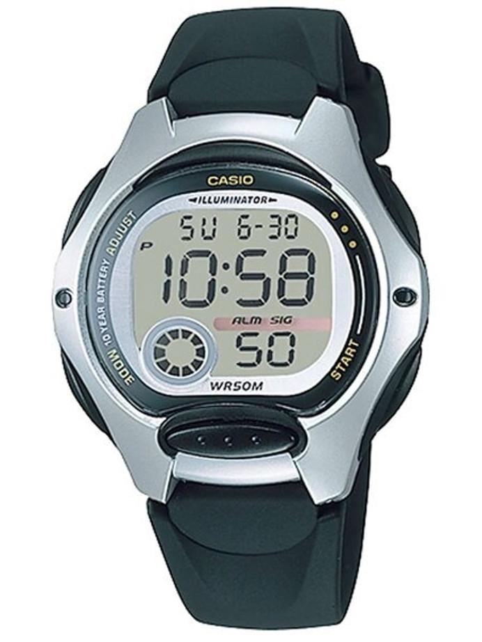 Casio Women's Sport Illuminator Watch with Stopwatch, Dual Time, and Alarm #LW-200-1AV