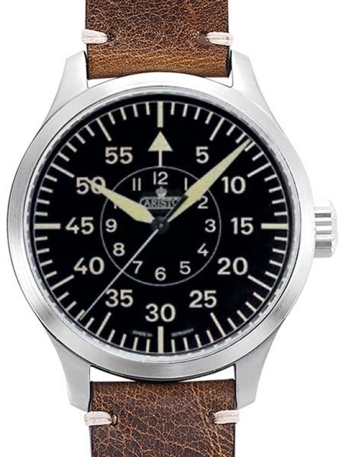 Aristo 47mm Swiss ETA Automatic Vintage Aviator Watch with Sapphire Crystal #7H98