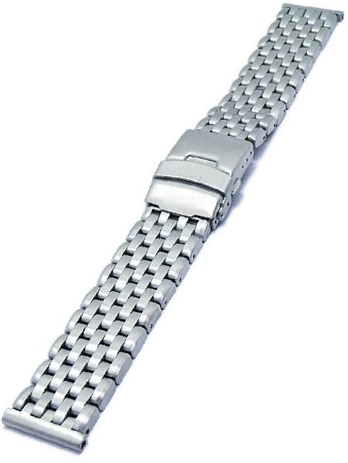 Vollmer Brushed Finish Solid Link Heavy Bracelet #09150H7 (20mm)