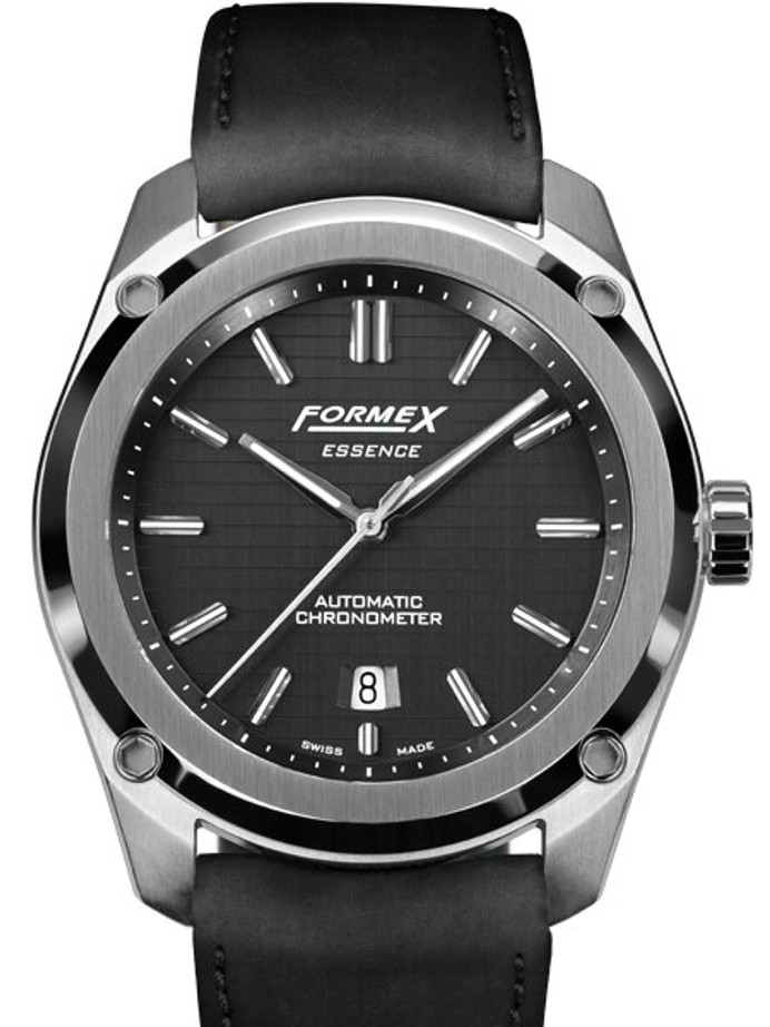 Formex Essence Swiss Automatic Chronometer with Black Dial #0330.1.6321.713