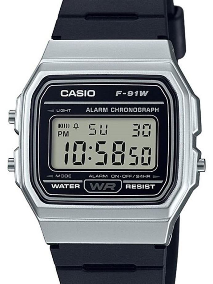 Casio Men's Vintage Series Digital Resin Strap Watch #F-91WM-7A