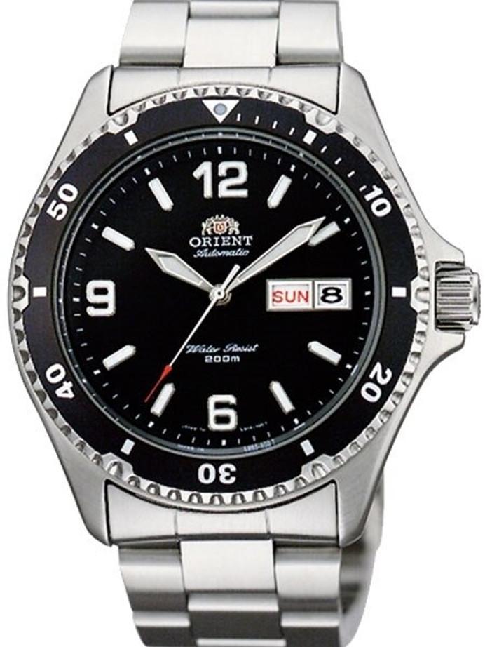 Customized Orient Mako II Black Dial Automatic Dive Watch #AA02001B