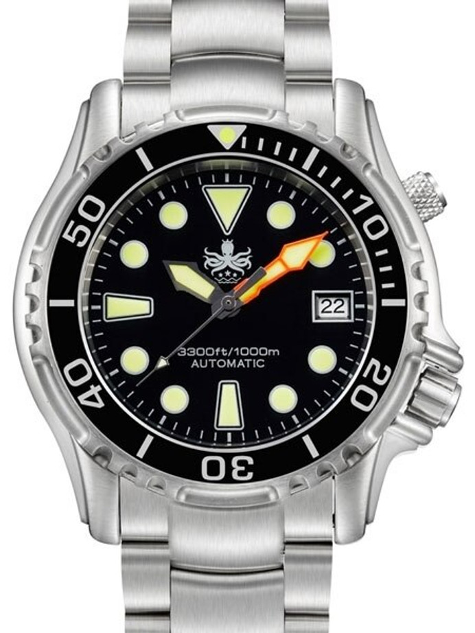 PHOIBOS 1000-Meter Ocean Master Automatic Dive Watch with Sapphire Crystal #PY005C