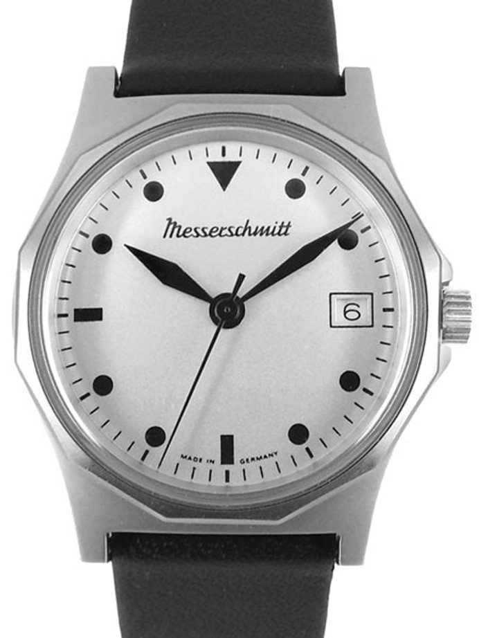 Messerschmitt Quartz Aviator Style Watch with 36mm Stainless Steel Case #ME-99S