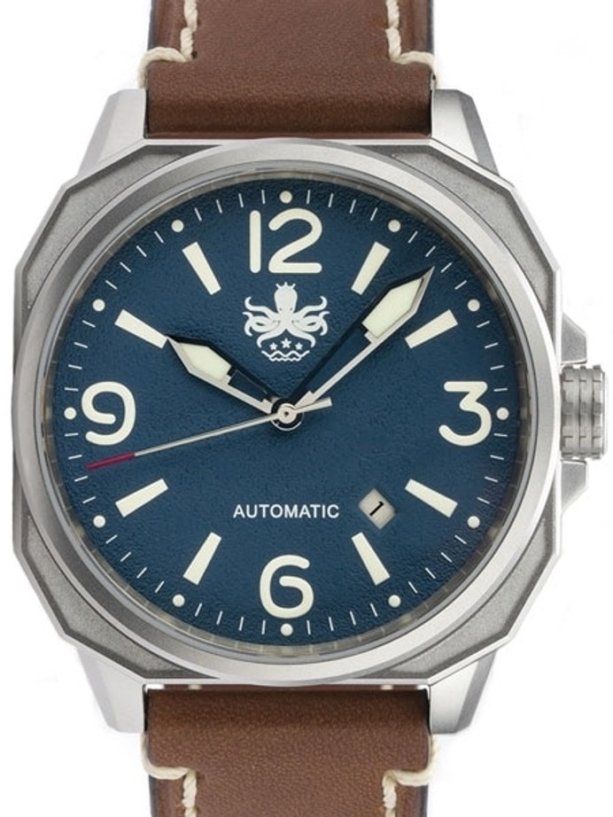 PHOIBOS Sentinel 200-Meter Automatic Watch with AR Sapphire Crystal #PY019B