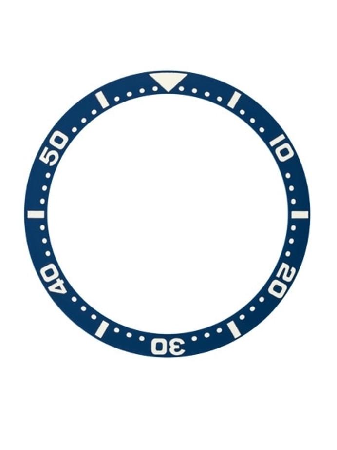Dark Blue Ceramic Luminous Bezel Insert for Seiko SKX007, SKX009, SKX011 #C36