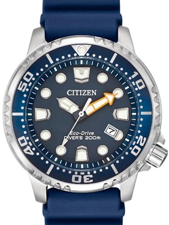 Citizen Eco-Drive Promaster Scuba Diver Watch with Rubber Dive Strap #BN0151-17L