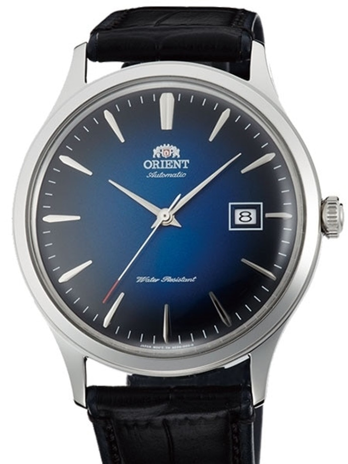 Orient V4 Automatic Dress Watch with Blue Dial #AC08004D
