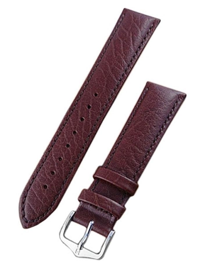 Hirsch Highland Brown Textured Italian Calf Skin Watch Strap #043020-10