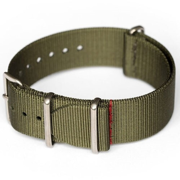 ADPT Forest Nylon Strap with 316L Stainless Steel Buckle and Keepers  #MSN-ADPTFOR