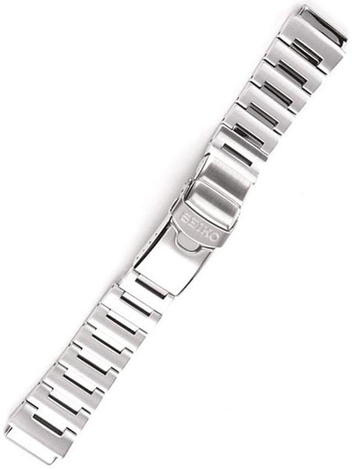 Seiko OEM Monster Bracelet, Brushed Finish, Solid Link #49X8JG (20mm)