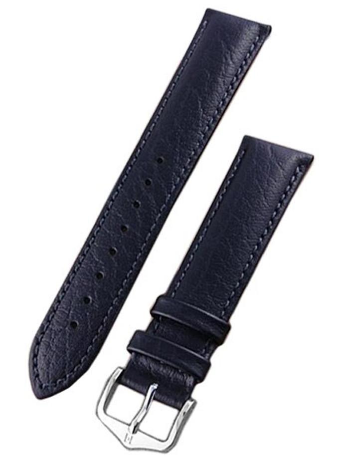 Hirsch Highland Black Textured Italian Calf Skin Watch Strap #043020-50