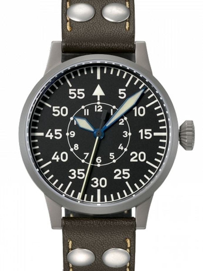 Laco 39mm Speyer Type B Dial Swiss Automatic Pilot Watch with Sapphire Crystal #862095
