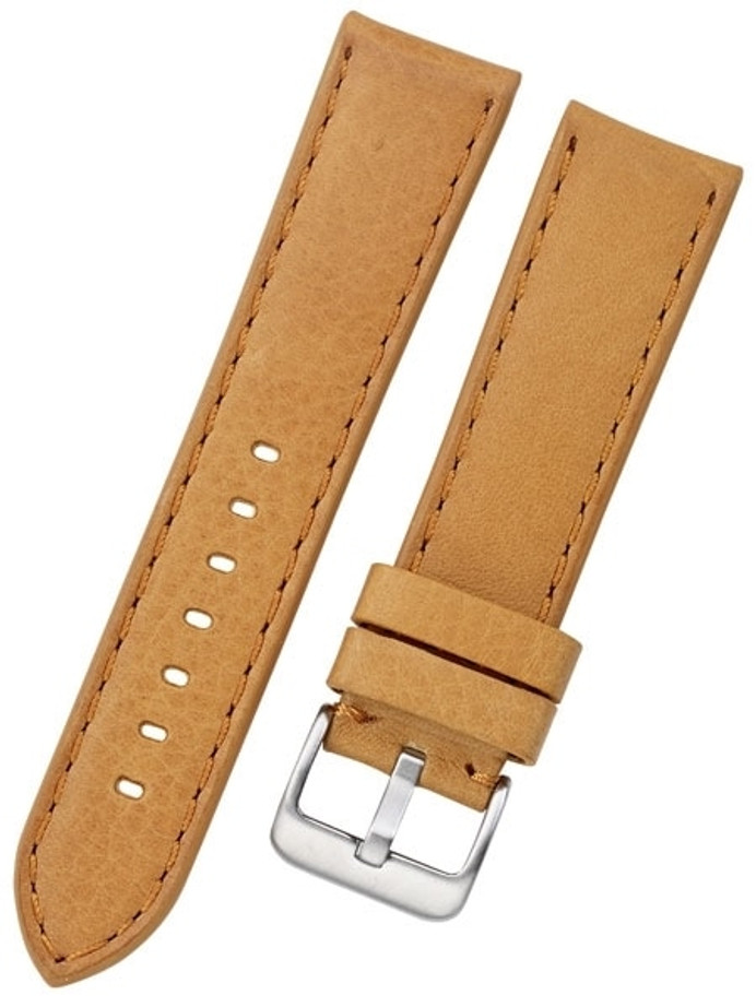 Toscana PANERAI Style Tan Italian Leather Strap with Matching Stitching #LBV-98220M
