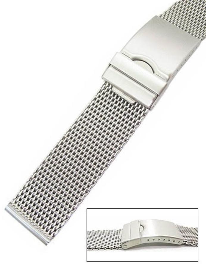 Vollmer Satin Finish Mesh Bracelet #99464H7 (24mm)