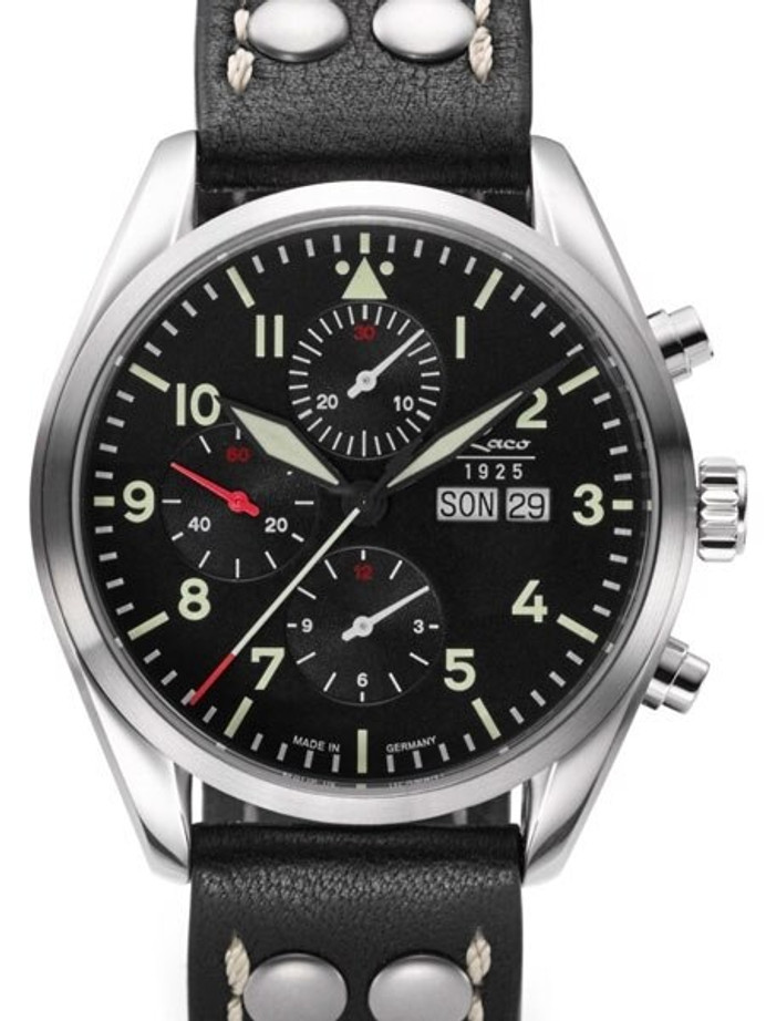Laco Monte Carlo Valjoux 7750 Swiss Automatic Chronograph with Sapphire Crystal #861815