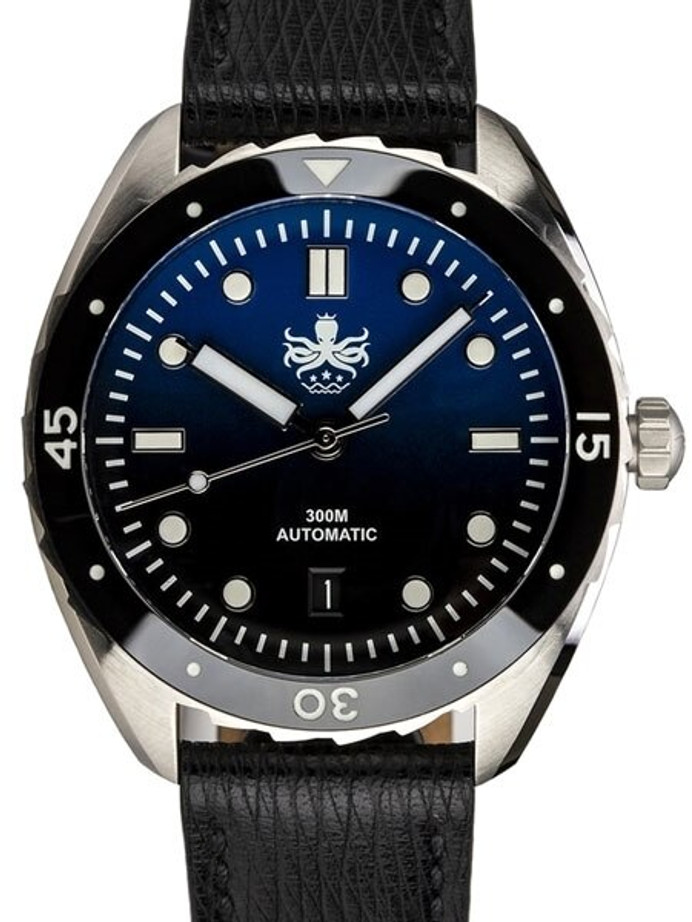 PHOIBOS Eagle Ray 300-Meter Automatic Dive Watch with Double Dome AR Sapphire Crystal #PY017A