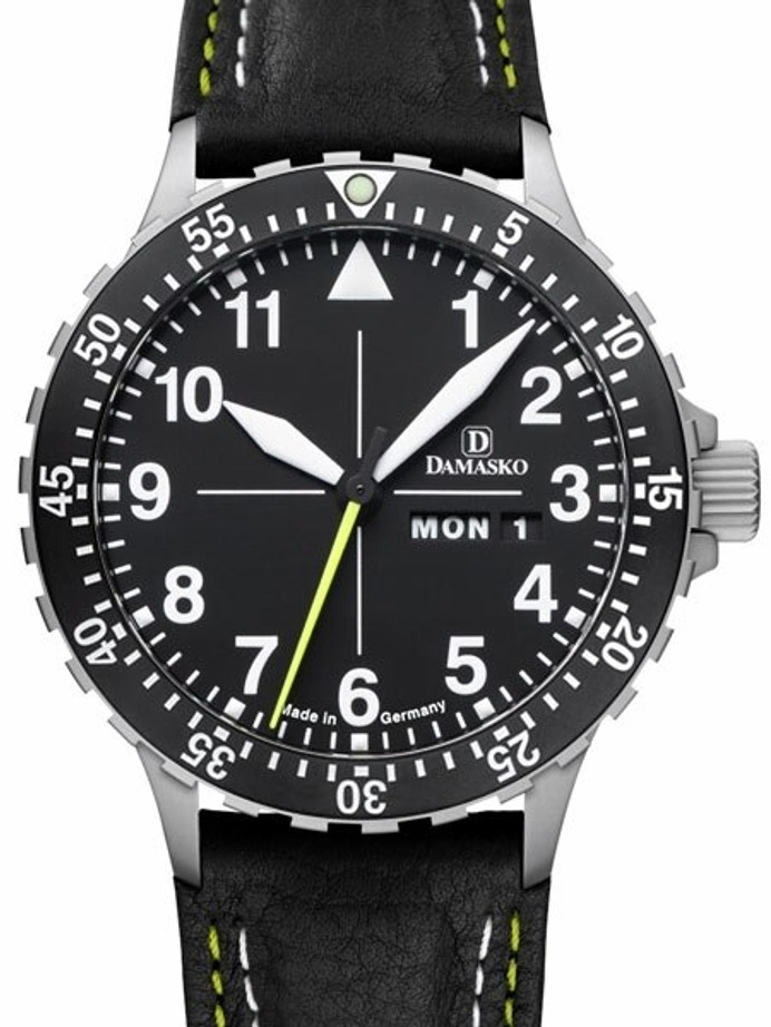 Damasko Swiss ETA Automatic with a 60-minute Bezel and Stainless Steel Case #DA46