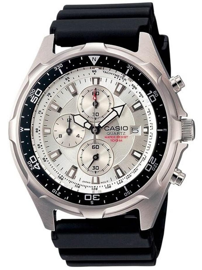 Casio Marine Gear Diver's Sports Analog Chronograph Watch #AMW330-7A